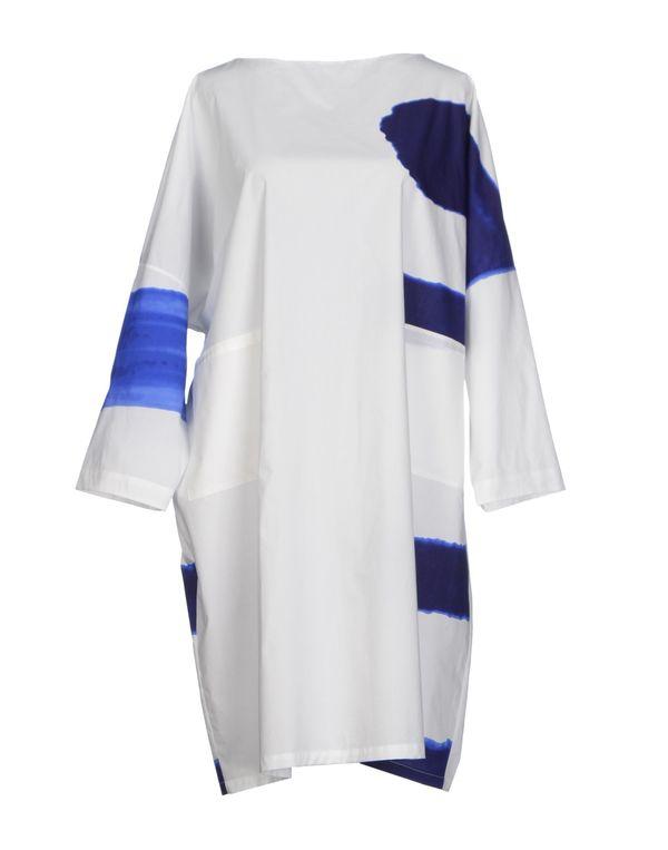 白色 MARNI 短款连衣裙