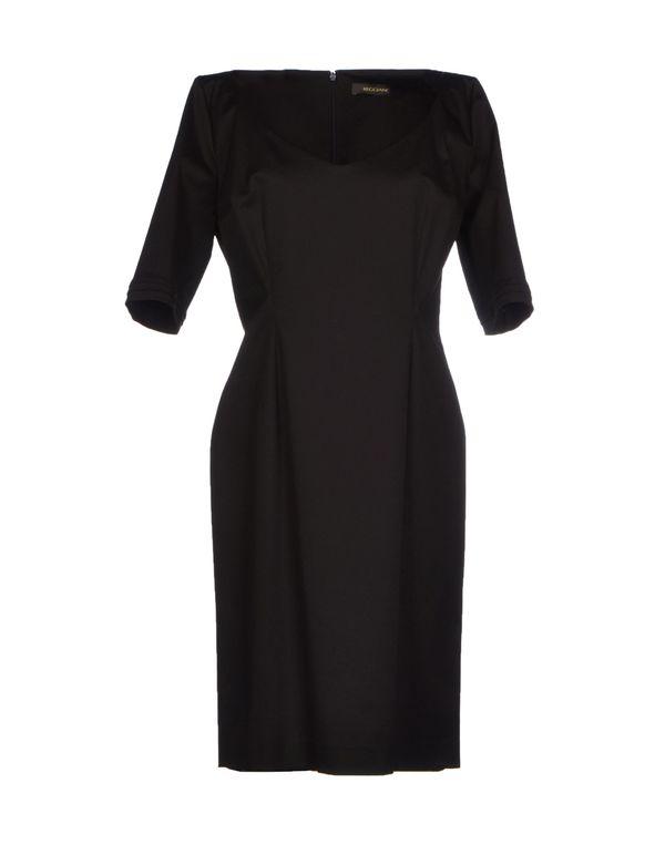 黑色 REGGIANI 短款连衣裙