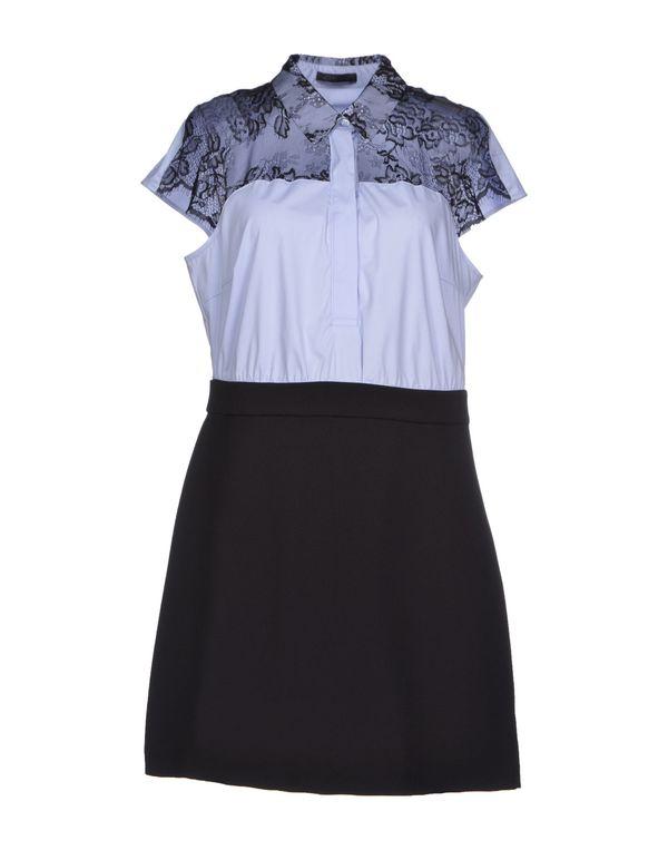 天蓝 PINKO BLACK 短款连衣裙