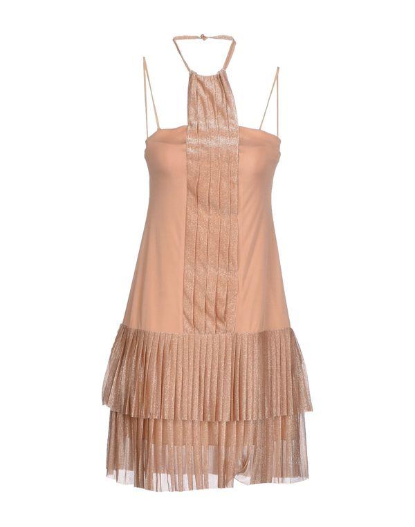 裸色 PINKO BLACK 短款连衣裙