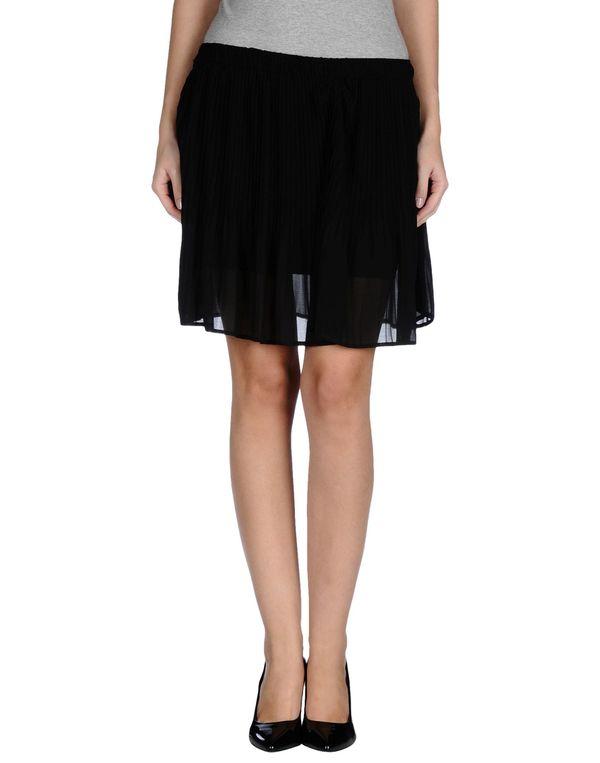 黑色 SO ALLURE 超短裙