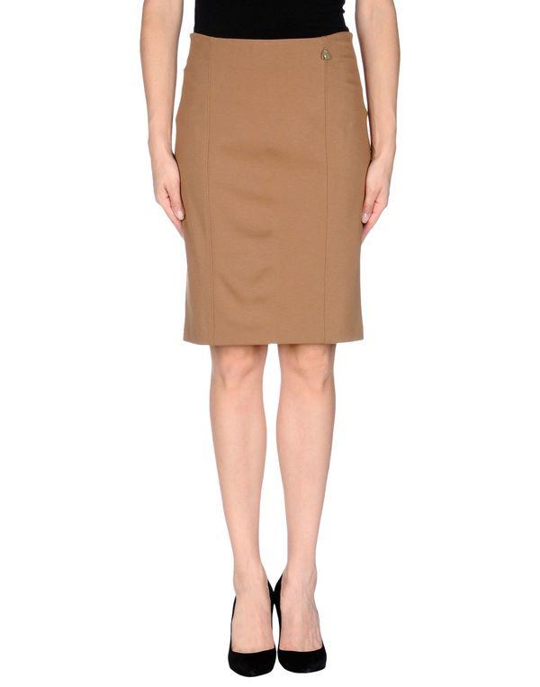 驼色 LIU •JO 及膝半裙