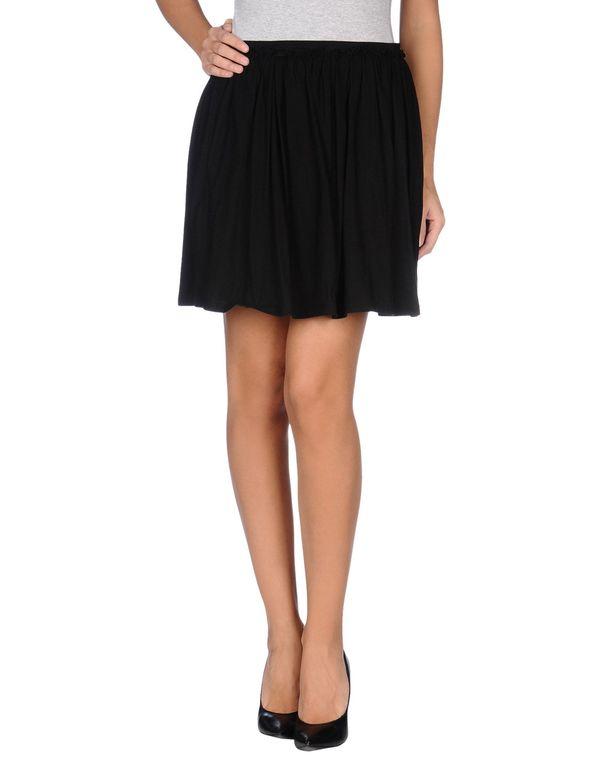 黑色 LE COEUR DE TWIN-SET SIMONA BARBIERI 超短裙