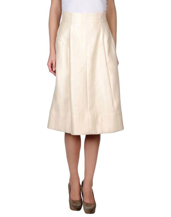 象牙白 MARNI 半长裙