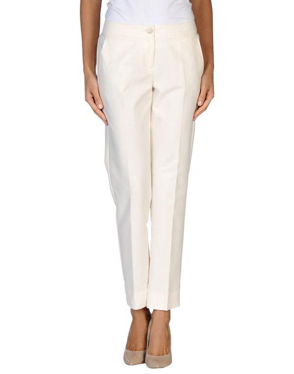 白色 PENNYBLACK 裤装