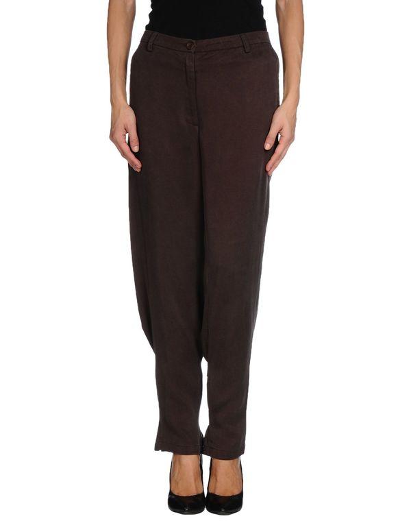 深棕色 TWIN-SET SIMONA BARBIERI 裤装
