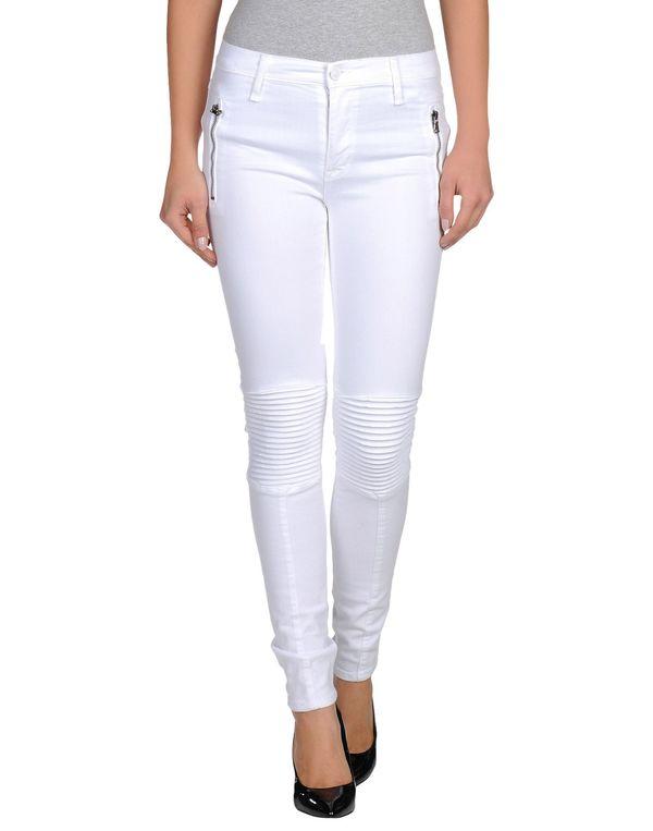 白色 HUDSON 牛仔裤