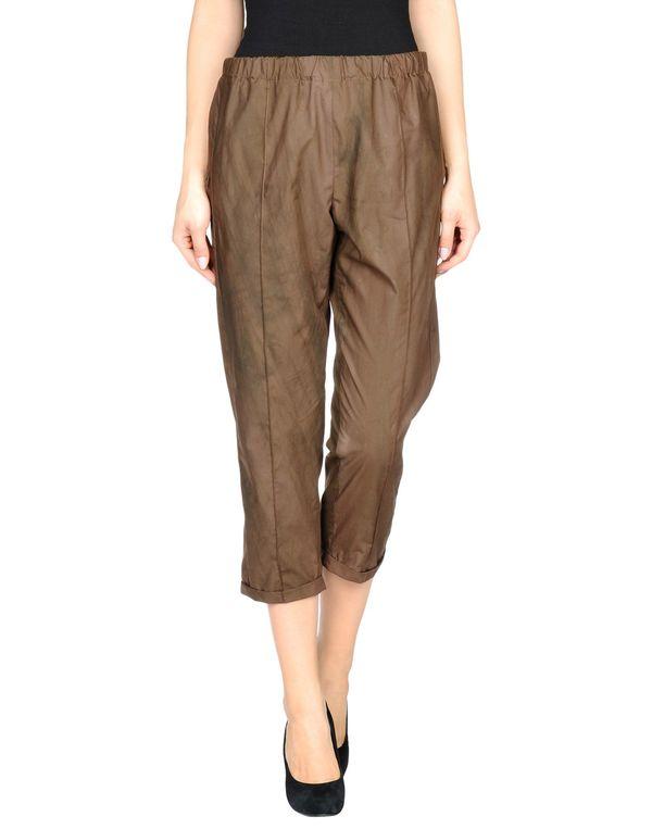 巧克力色 MARNI 裤装