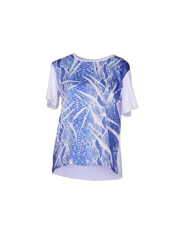 蓝色 JUST CAVALLI T-shirt