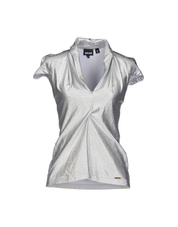 灰色 JUST CAVALLI T-shirt