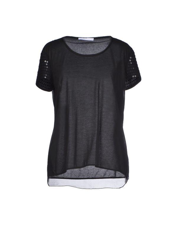 黑色 LES COPAINS T-shirt