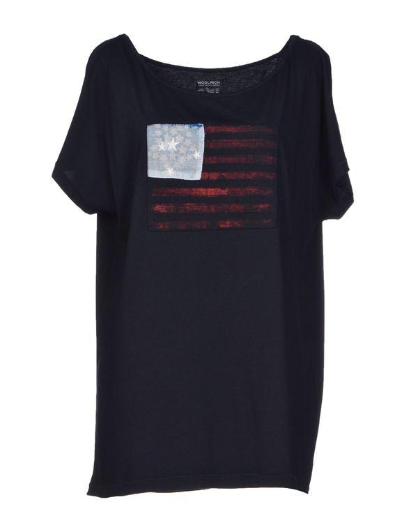 深藏青 WOOLRICH T-shirt