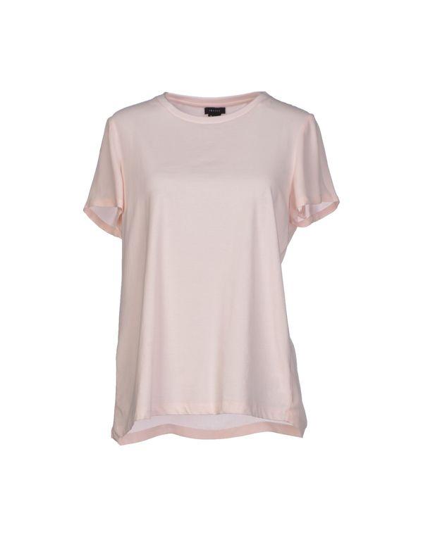 粉红色 THEORY T-shirt