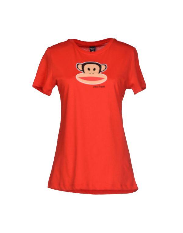 红色 PAUL FRANK T-shirt