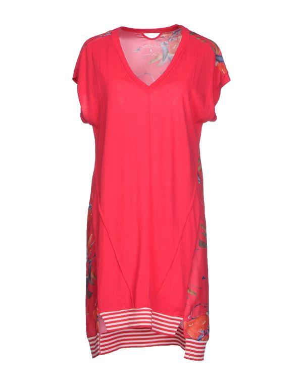 红色 PATRIZIA PEPE 短款连衣裙