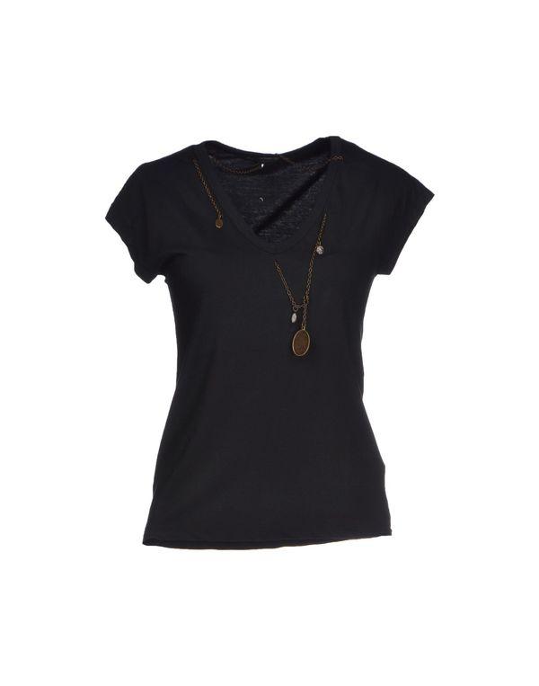 黑色 D.A. DANIELE ALESSANDRINI T-shirt