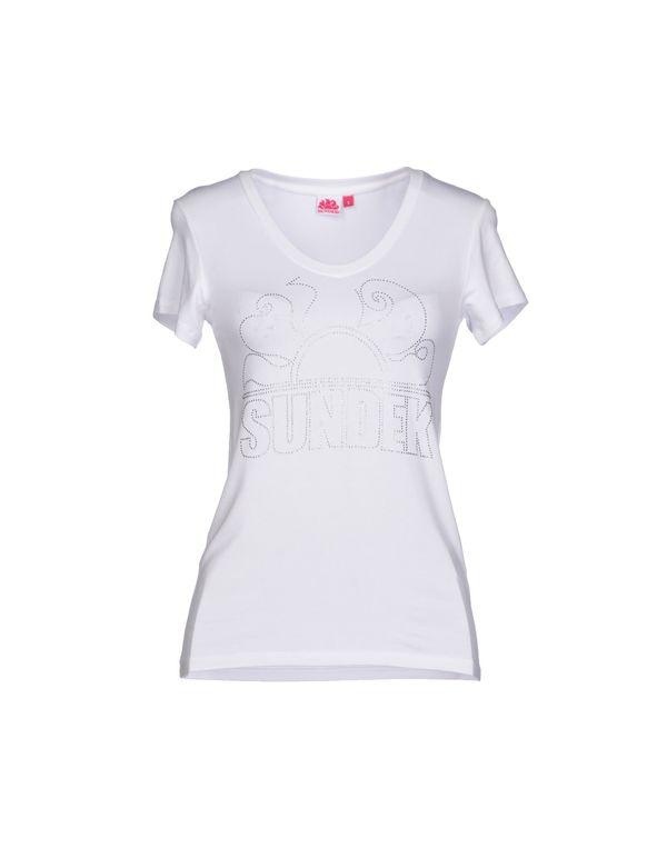 白色 SUNDEK T-shirt
