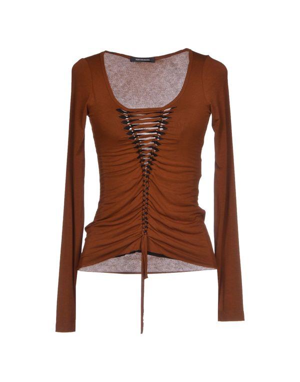 棕色 PLEIN SUD JEANIUS T-shirt