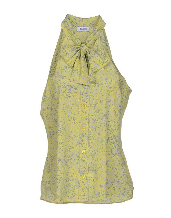 黄色 MOSCHINO Shirt