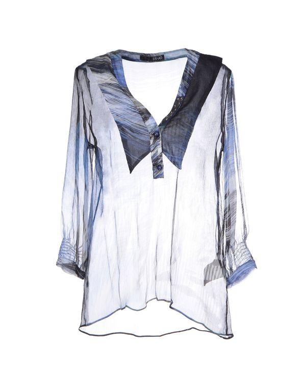 深藏青 LIU •JO 女士衬衫