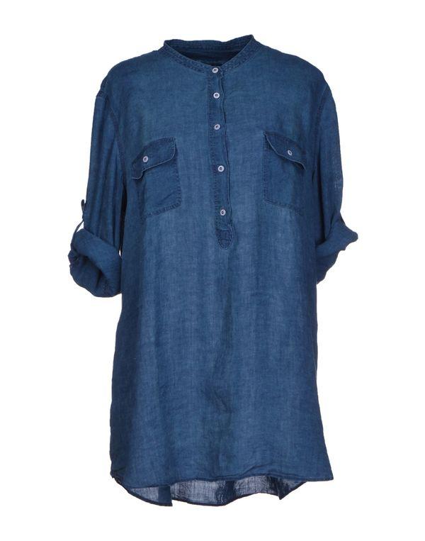 蓝色 GANT 女士衬衫
