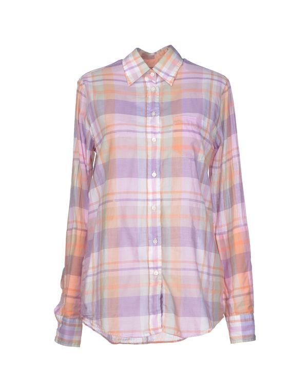 丁香紫 GANT Shirt
