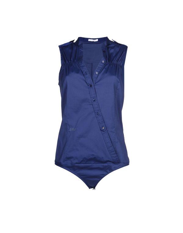 蓝色 PINKO Shirt
