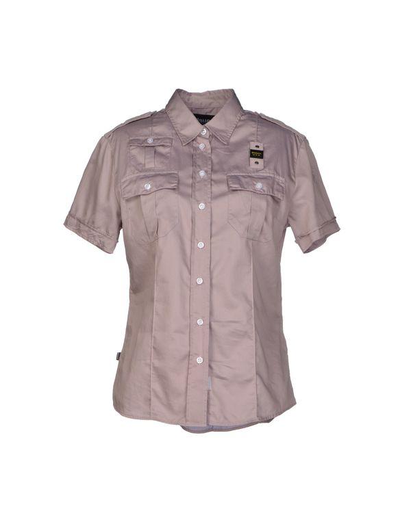 鸽灰色 BLAUER Shirt