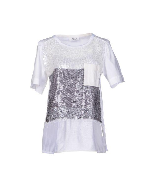 白色 AVIÙ 女士衬衫