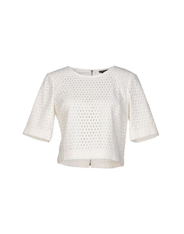 白色 THEORY 女士衬衫