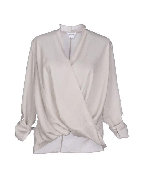 灰色 HELMUT LANG 女士衬衫
