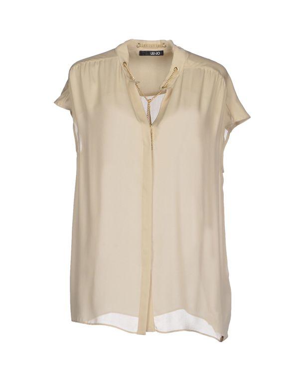 米色 LIU •JO Shirt