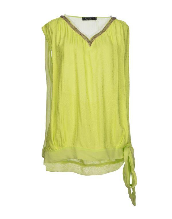 荧光绿 TWIN-SET SIMONA BARBIERI 女士衬衫