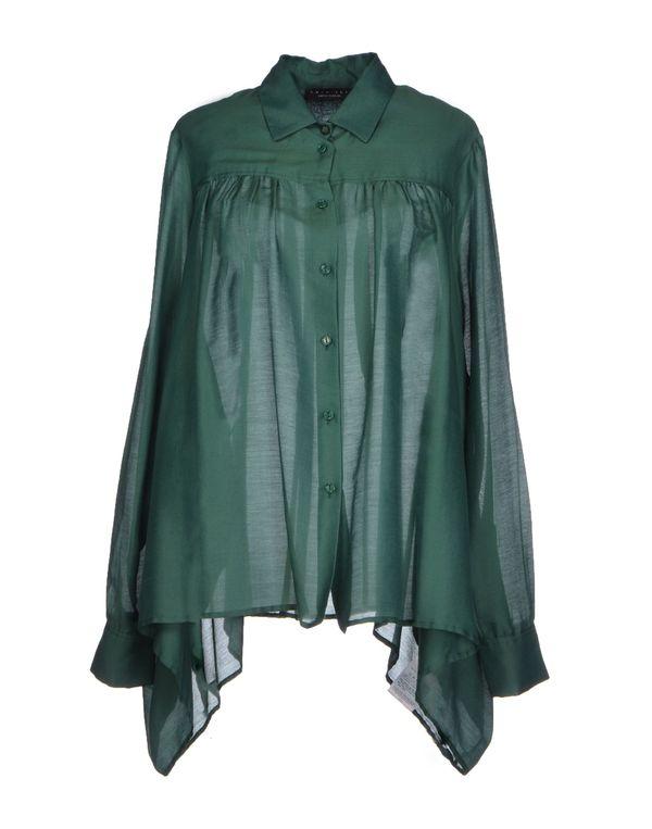 深绿色 TWIN-SET SIMONA BARBIERI Shirt