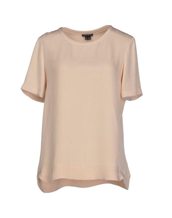 米色 THEORY 女士衬衫