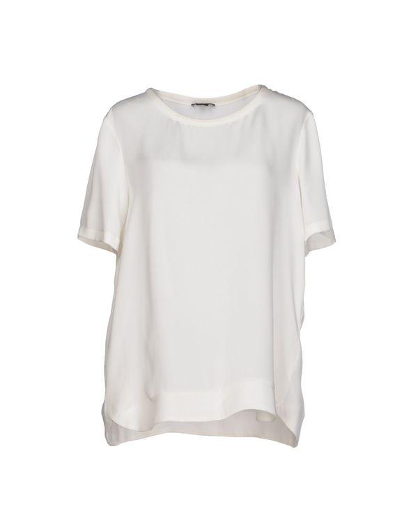 象牙白 THEORY 女士衬衫