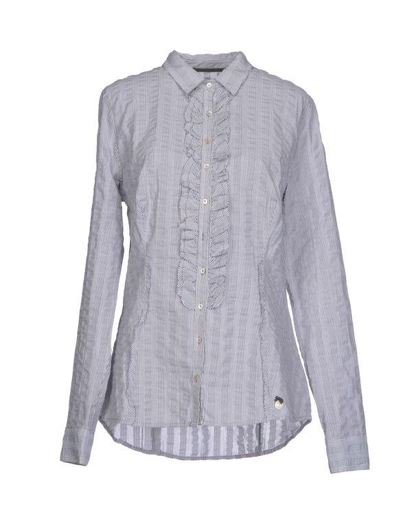 灰色 GUESS Shirt