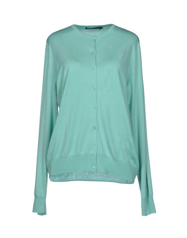 蓝绿色 RALPH LAUREN 针织开衫