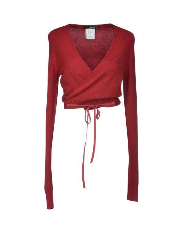 波尔多红 LIU •JO 短套衫