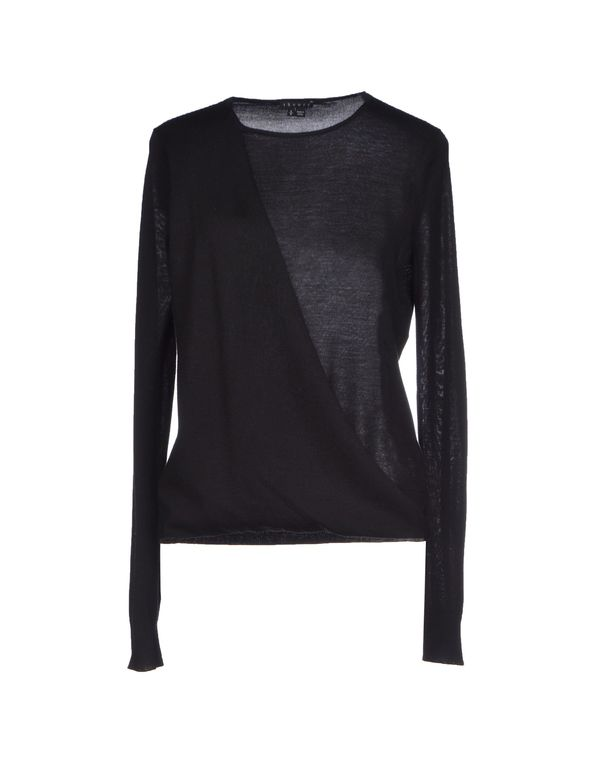 黑色 THEORY 套衫