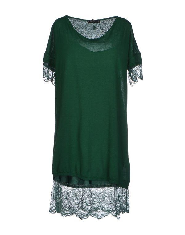 绿色 TWIN-SET SIMONA BARBIERI 短款连衣裙