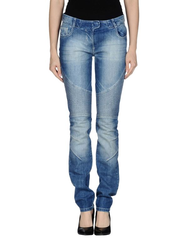 蓝色 SCERVINO STREET 牛仔裤