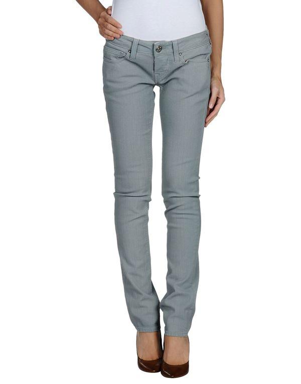 灰色 TRUE RELIGION 牛仔裤