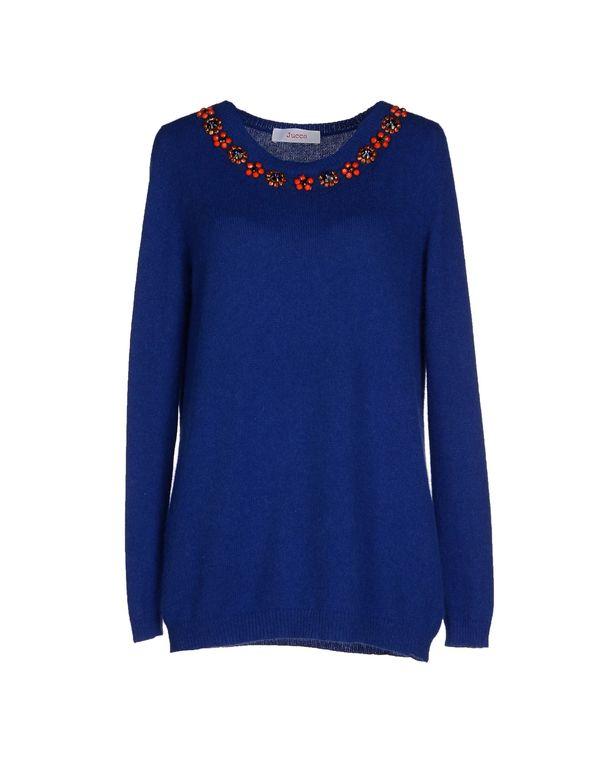 蓝色 JUCCA 套衫