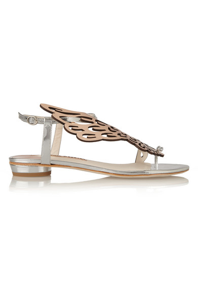 Seraphina 镜面皮革凉鞋