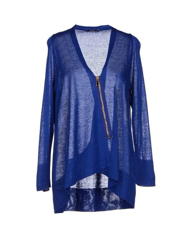 蓝色neera 针织开衫