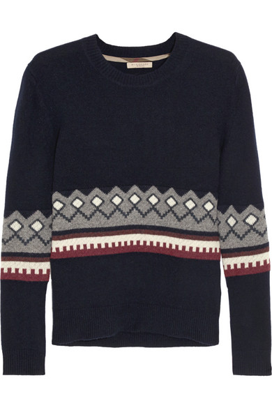 羊毛羊绒混纺毛衣