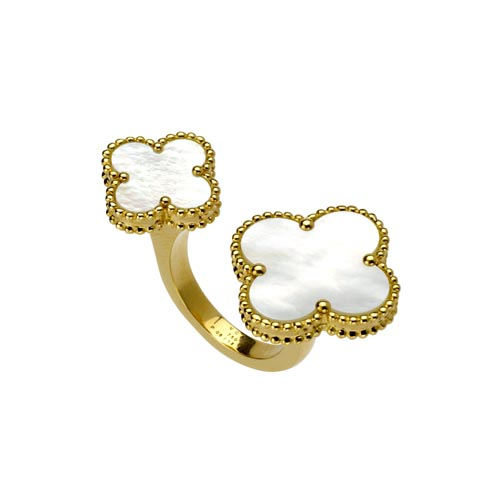 Van Cleef & Arpels 梵克雅宝优雅创新的指间戒