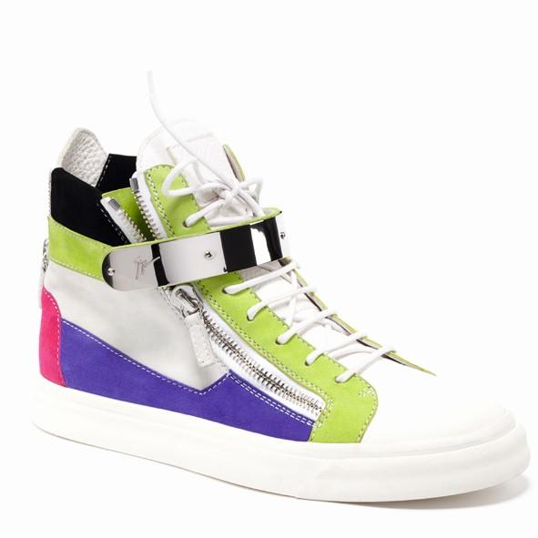 朱塞佩·萨诺第(Giuseppe Zanotti)绿色休闲鞋