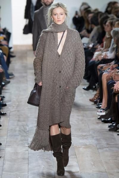 要风度也要温度 秋冬针织裙的奇妙穿搭